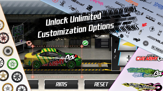 "Download Drag Racing Racing game ""overtaking competitions"" Android + mode 1"