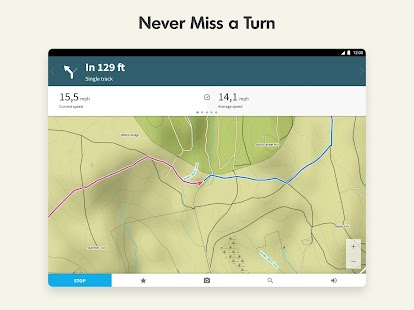 Komoot — Cycling, Hiking & Mountain Biking Maps Screenshot