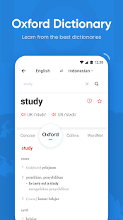 U-Dictionary: Oxford Dictionary Free Now Translate Screenshot