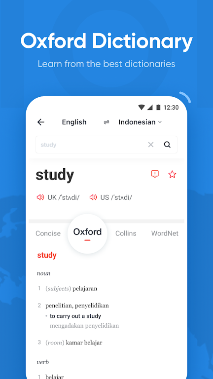 U-Dictionary: Oxford Dictionary Free Now Translate  poster 3