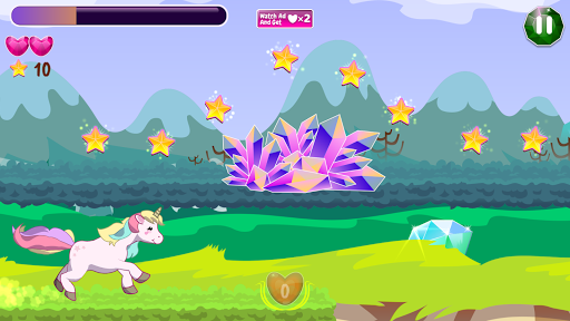 Unicorn Runner apkmartins screenshots 1