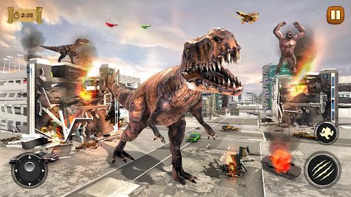 Dinosaur Rampage Attack: King Kong Games 2020 1.0.2 screenshots 12