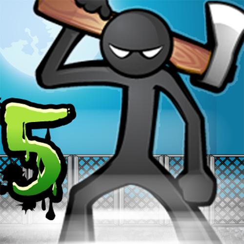 Anger of stick 5 : zombie  (Mod Money) 1.1.44 mod