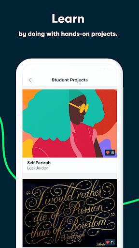 Skillshare - Creative Classes 5.3.8 Screenshots 3