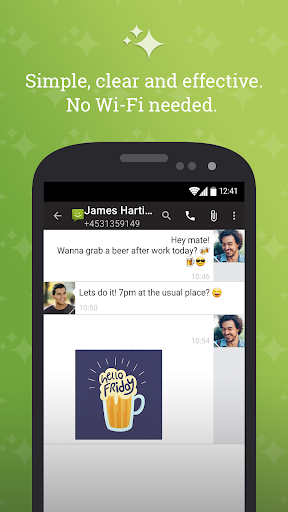 SMS From Android 4.4 android2mod screenshots 1
