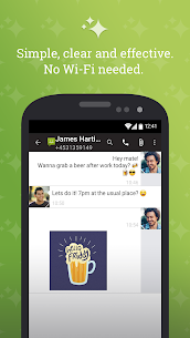 SMS from Android 4.4 with Caller ID 1