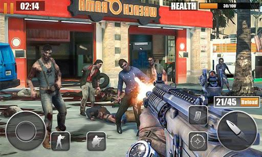 Dead Zombie Sniper Frontier 2018 APK MOD – Pièces de Monnaie Illimitées (Astuce) screenshots hack proof 2