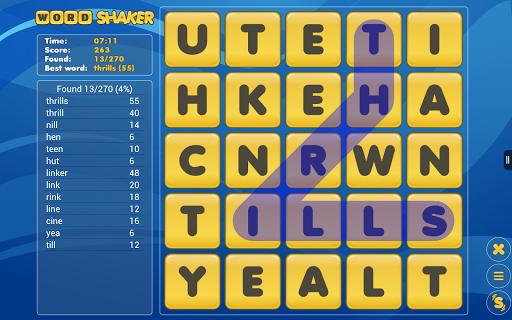 Word Shaker Free 4.1 screenshots 9