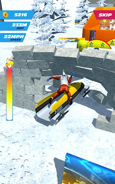 Ski Ramp Jumping