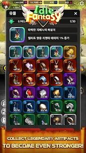 Idle Fantasy MOD APK: Merge clicker RPG (Unlimited Money) 6