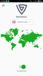 Browsec: FREE & Unlimited VPN, Fast & Secure proxy Screenshot