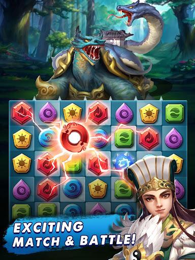 Three Kingdoms & Puzzles: Match 3 RPG screenshots 11