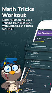 Math Tricks Workout Mod Apk- Math master (PRO Features Unlocked) 1