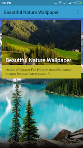 Nature Landscape Background – Mod + Data for Android 1