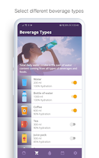 Drink Water Reminder - Beverage Tracker