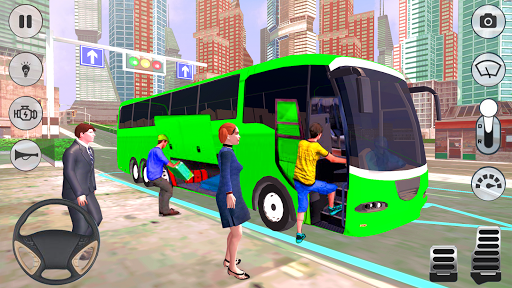 City Coach Bus Driver 3D Bus Simulator APK MOD (Astuce) screenshots 2