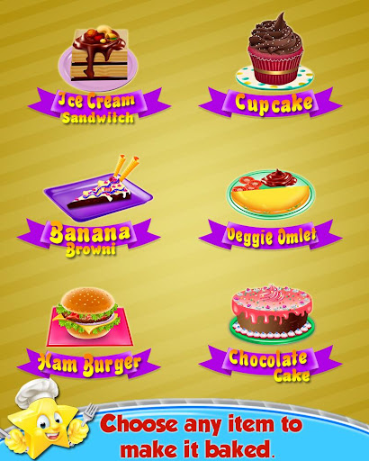 Cooking Recipes - in The Kids Kitchen  screenshots 2