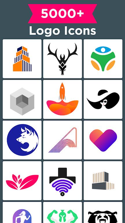 Logo Maker - Graphic Design & Logo Templates poster 14