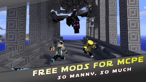 Mods for Minecraft PE by MCPE  Screenshots 4