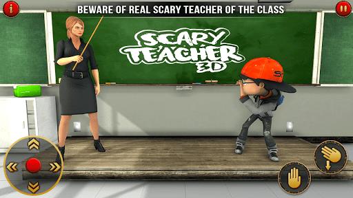 Scary Teacher 2021 - Adventure School Game screenshots 4