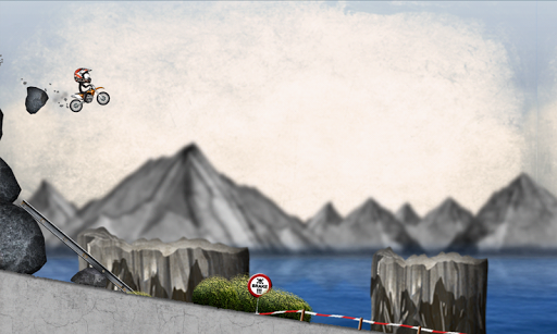 Stickman Downhill Motocross 4.1 screenshots 1