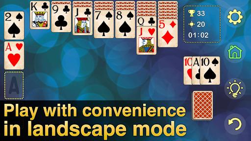 Solitaire Klondike - classic offline card game 4.0.2 screenshots 4