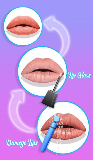 Lips Done! Satisfying 3D Lip Art ASMR Game apkmr screenshots 9