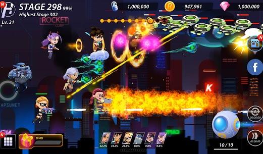 Idle Hero Z Mod Apk- Summon & Merge Cyberpunk (Unlimited Gold) 5