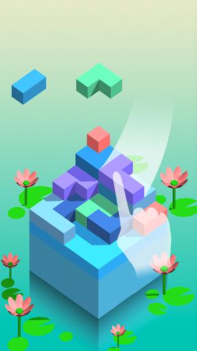 squarestack - zen casual game screenshot 1
