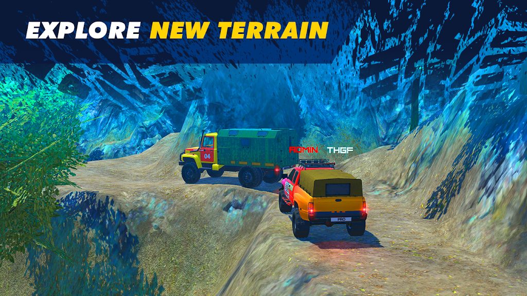 Offroad Simulator Online: 8x8 & 4x4 off road rally  poster 5