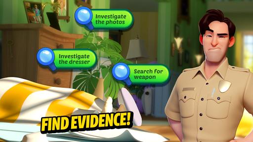 Small Town Murders: Match 3 Crime Mystery Stories screenshots 2