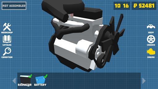 Retro Garage - Car mechanic simulator modavailable screenshots 4
