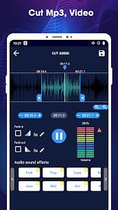 Editor de música: cortador de mp3, mezcla de audio. 2