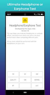 Earphone and Headphone Test Apk 1.0 (Paid) 6
