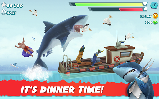 Hungry Shark Evolution - Offline survival game  screenshots 17