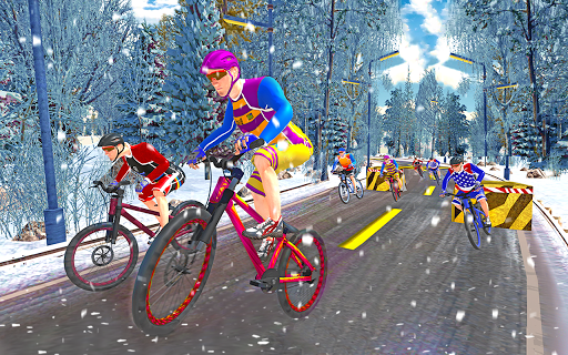 BMX Cycle Freestyle Race 3d  screenshots 15