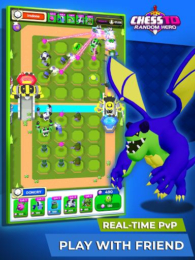 Chess TD - Random Hero apkdebit screenshots 9