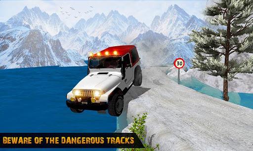 Offroad Jeep Driving Simulator : Real Jeep Games Apkfinish screenshots 4