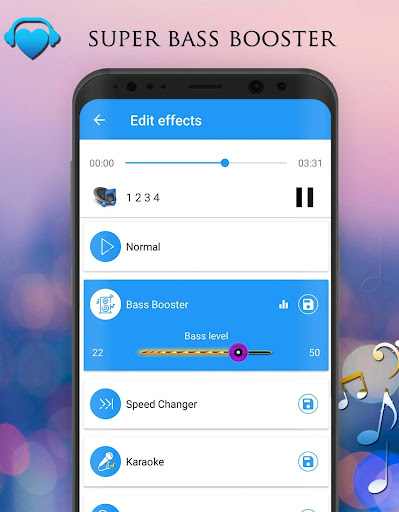 Voice Changer - Audio Effects 1.7.4 Screenshots 12