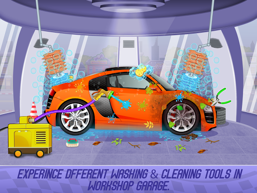 Kids Sports Car Wash Cleaning Garage 1.16 screenshots 5