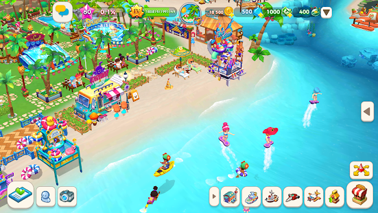 My Little Paradise: Island Resort Tycoon Screenshot