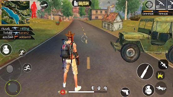 3D Squad Free Fire Battleground Team Shooter 2021 1.8 Screenshots 1