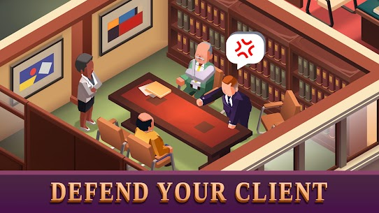 Law Empire Tycoon Mod Apk- Idle Game Justice Simulator (Unlimited Money) 1