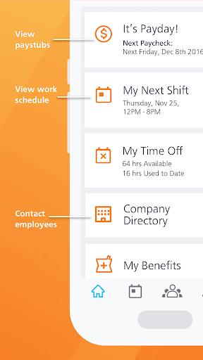 Paycor Mobile modavailable screenshots 4