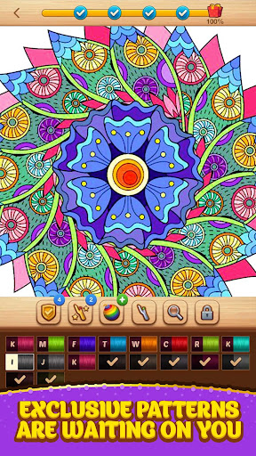Cross Stitch Coloring Mandala 0.0.236 screenshots 14