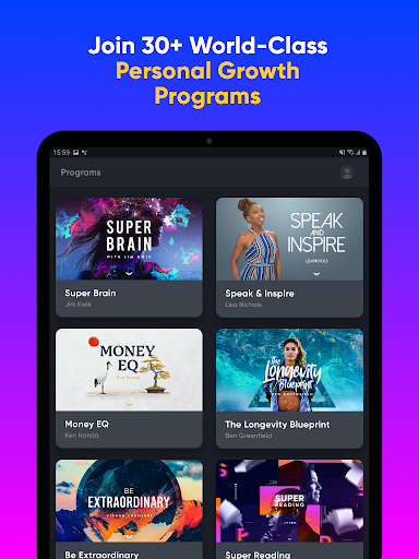 Mindvalley: Learn, Evolve and Transform Your Life 5.12.3 Screenshots 7
