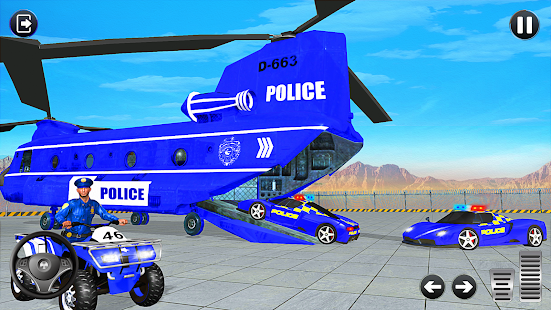 Grand Police Vehicles Transport Truck Screenshot