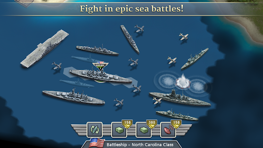 1942 Pacific Front – a WW2 Strategy Mod Apk (Unlimited Gold Coins) 10