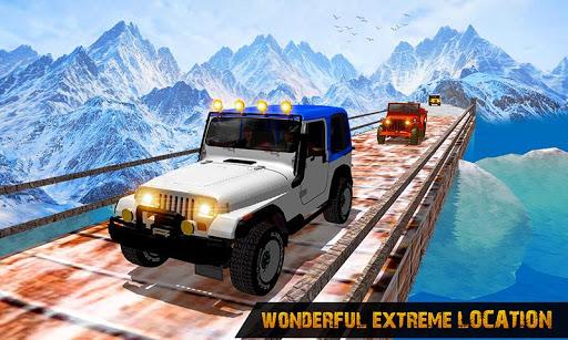 Offroad Jeep Driving Simulator : Real Jeep Games Apkfinish screenshots 1