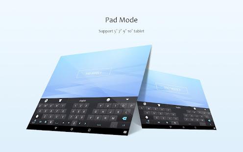 GO Keyboard Lite - Emoji keyboard, Free Theme, GIF 3.25 Screenshots 7